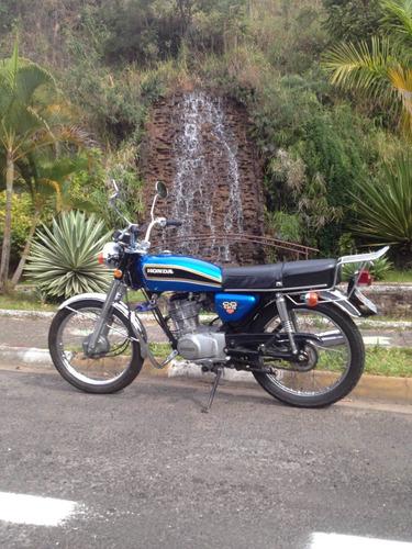 Imagem 1 de 8 de Honda Cg125 1977 Placa Preta