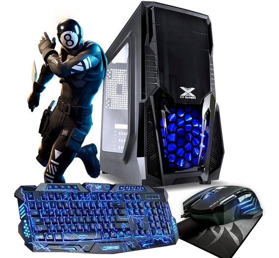 Pc Gamer Barato Intel / 8gb / Hd 500gb / Geforce + Kit Gamer