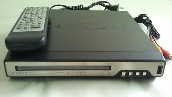 Dvd Sankey 7802 Usb Mp4 + Películas De Regalo
