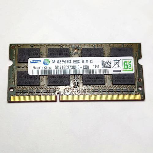 Imagem 1 de 1 de Memória Ram Samsung Ddr3 Sodimm 8gb (2x4gb) 1600mhz Notebook