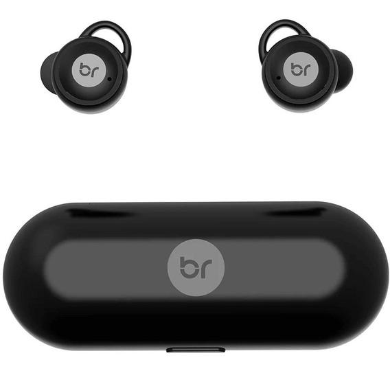 Fone De Ouvido Bluetooth Bright Blacksound 0514 C/ Microfone