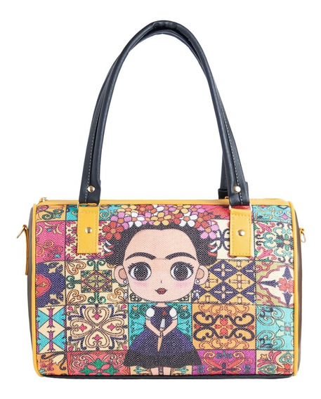 Bolsa Grande Frida Kahlo Modd8 De Yute Fabricante Negocio