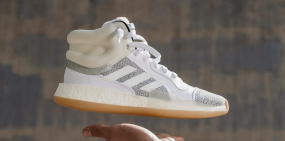 Zapatillas De Basquet adidas Marquee Boost Blancas