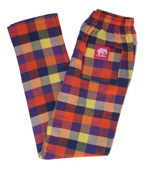 Pantalón Elepants Hombre Talle Xs (viyela)