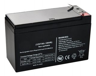 Bateria Gel 12v 7ah Recargable Alarma Ups Iluminacion Luces- Importadora Fotografica - Distribuidor Oficial Multimarcas