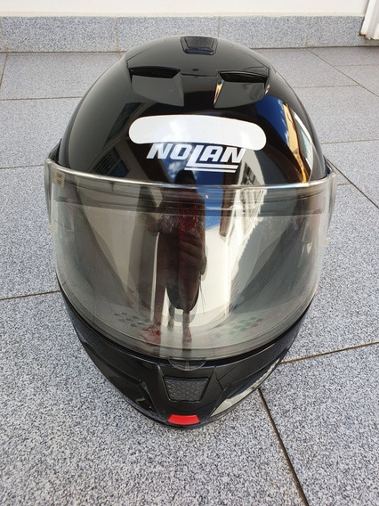 Capacete De Moto Nolan N103 Tamanho M Perfeito Estado