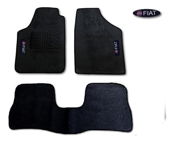 Tapetes 3 Peças Fiat Siena 1997/98