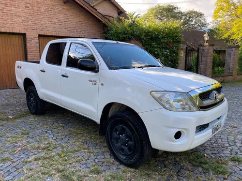 Oferta Toyota Hilux 2.5 Cd Dx Pack I 120cv 4x4 2011 Dueño!!