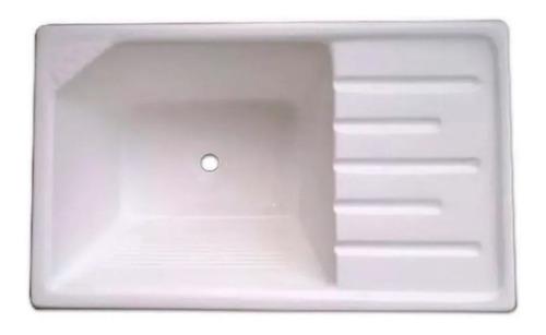 Imagen 1 de 10 de Pileta Reforzada Lavadero Fibra Vidrio Marmolina Oferta Baño
