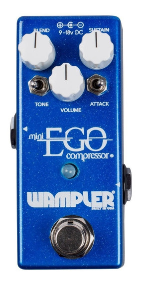Pedal Wampler Mini Ego Compressor C/ Nf-e & Garantia