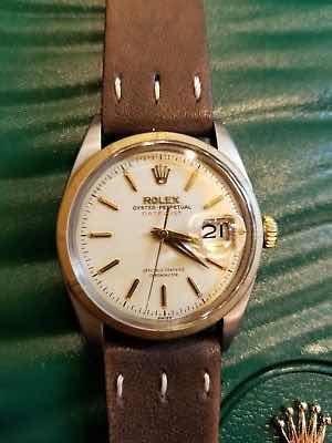 Reloj Rolex Bubbleback Dos Tonos