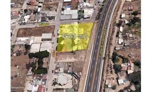 Inversión Terreno En Venta Con Edificio Construido, En Playas De Tijuana Baja California