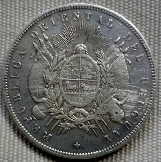 Uruguay 1 Un Peso Plata 1893