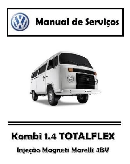 Manual De Serviços - Volkswagen Kombi 1.4 Totalflex Pdf