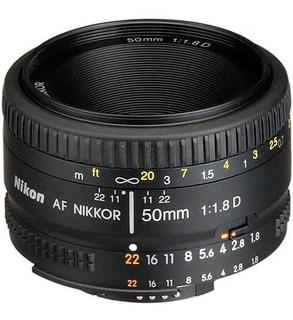 Lente 50mm F1,8 D Af Fx Full Frame Y Autofoco
