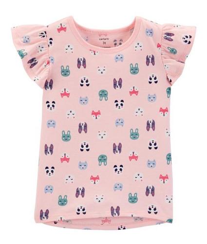 Imagem 1 de 1 de Camiseta Carter's - Bichinhos