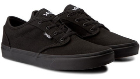 Tenis Vans Niños, Color Negro, Original