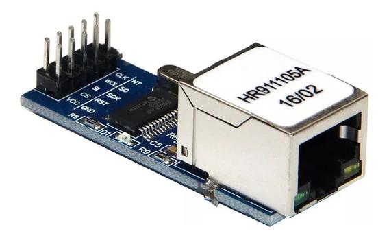 Placa De Desenvolvimento De Módulo Ethernet Mini Enc28j60 P