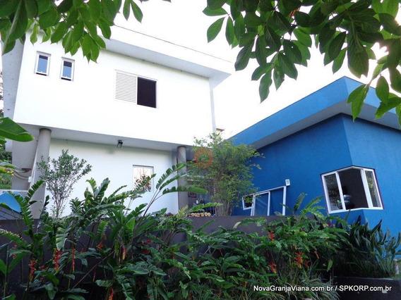 Casa Com 3 Dormitórios À Venda, 310 M² Por R$ 1.050.000 - Nova Higienópolis - Jandira/sp - Ca1537
