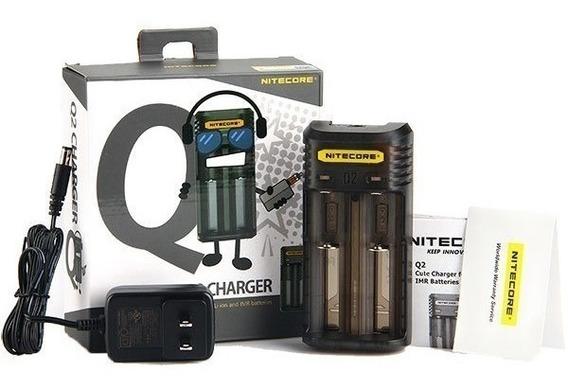 Carregador Inteligente De Bateria Pilhas Nitecore Q2