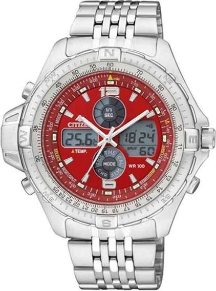 Relógio Citizen Masc Promaster Js1046-55w Original Barato