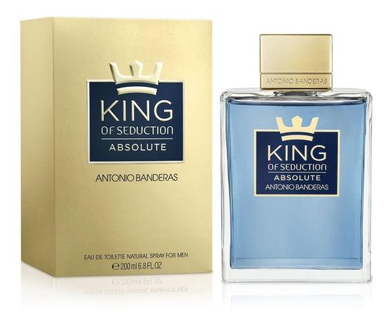 King Of Seduction Absolute 200 Ml Edt Spray De Antonio Bande