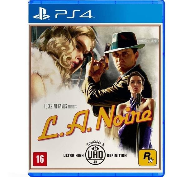 L.a. Noire - Ps4 Midia Fisica Lacrado