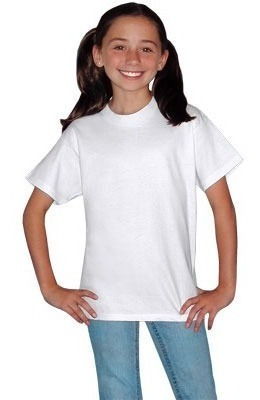 Playera Color Para Sublimar Adolescente Dry Fit
