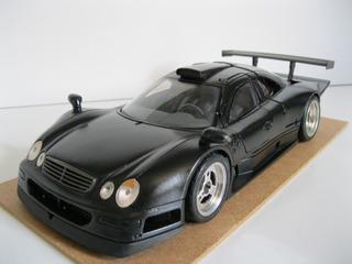 Mercedes Benz Clk-gtr Street Customizada - Maisto 1/18