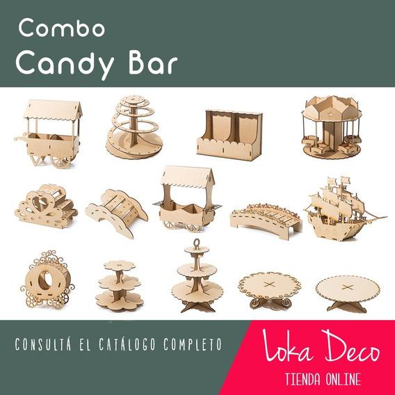 Combo Candy Bar - Pedido Especial - 3 Piezas - Surtido