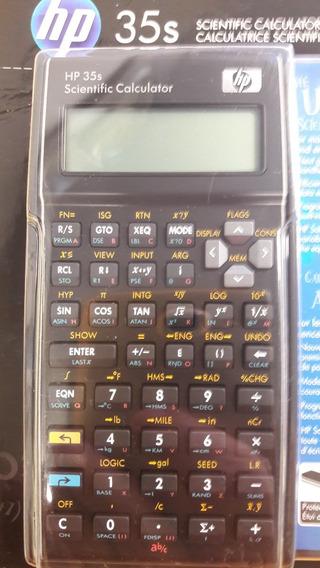 Calculadora Hewlett-packard Cientifica Modelo 35s