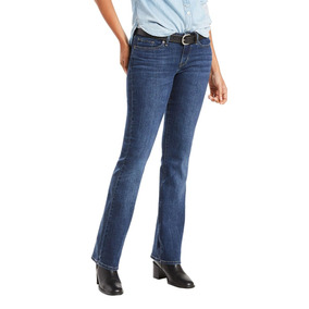 abc6f058b0d Calça Jeans Levis Women 715 Bootcut Vintage Média