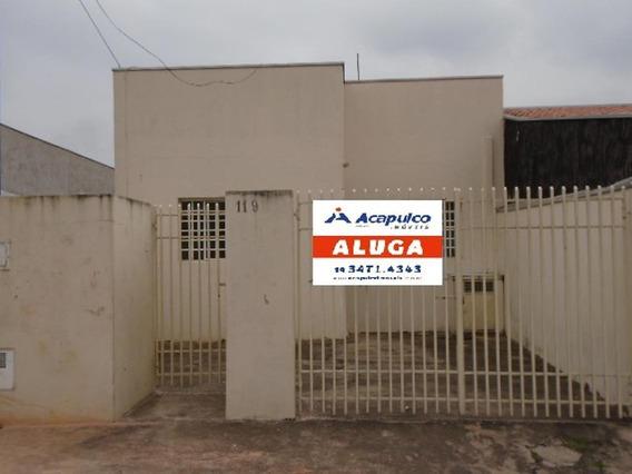 Casa Para Aluguel, 2 Quartos, 2 Vagas, Parque Residencial Jaguari - Americana/sp - 3741
