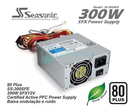 Mini Fonte Seasonic Atx Ss 300sfe Pfc - 80 Plus Gamer