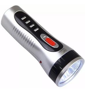 Lanterna Led Recarregavel 05 Leds Bivolt - Dp Ledlight