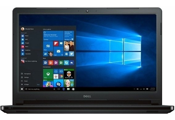 Notebook Dell I5566-3000blk-plus I3 2.40ghz/6gb/1tb/dvdrw/15