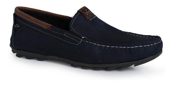 Sapato Mocassim Masculino Pegada Pontos Aparentes