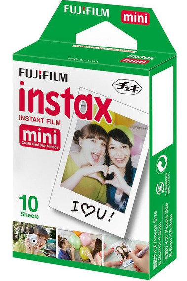 Filme Instax Mini Com 10 Poses - Fujifilm