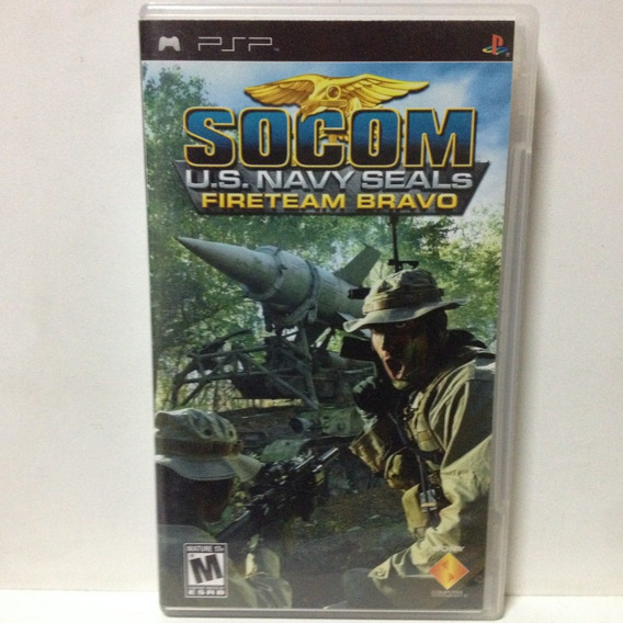 Jogo Psp - Socom U.s. Navy Seals Fireteam Bravo