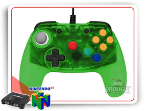 Controle Nintendo 64 Brawler64 N64 Retro Fighters - Gamepad