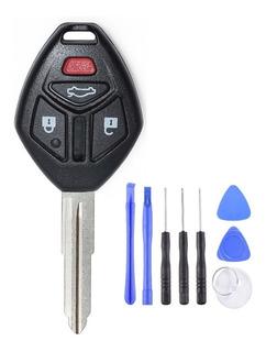 Carcasa Llave Mitsubishi Lancer Galant Eclipse 4 Botones Key