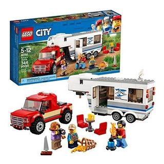 Lego City Grandes Vehículos Camioneta Y Casa Rodante 60182