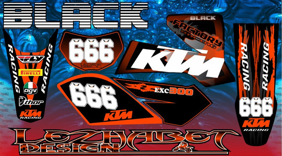 Kit Xmm 250 Motomel 010 Ideal Enduro/cross