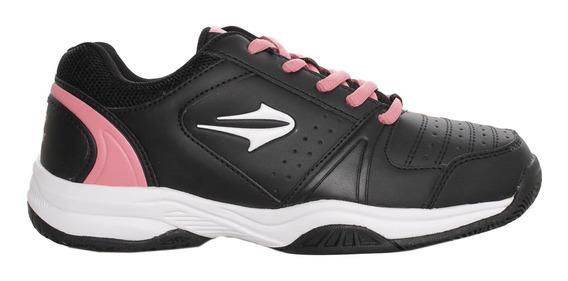 Zapatillas Topper C Tennis Rod Mujer Ng/rs