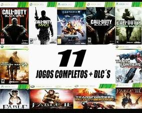 11 Jogos Para Xbox 360 Transferencia De Lincença Leia