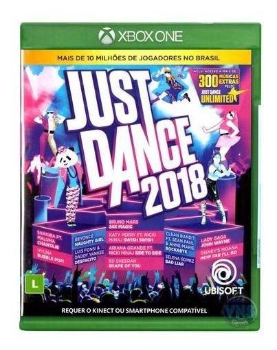 Just Dance 2018 Xbox One Midia Fisica Lacrado