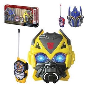 Walkie Talkie Com Mascaras Do Transformers