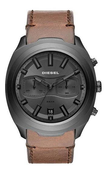 Relógio Diesel Masculino Gun Metal Grafite Dz4491/0mn