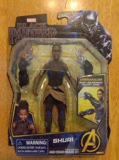 Figura Marvel Black Panther Pantera Negra Shuri 6 Pulgadas
