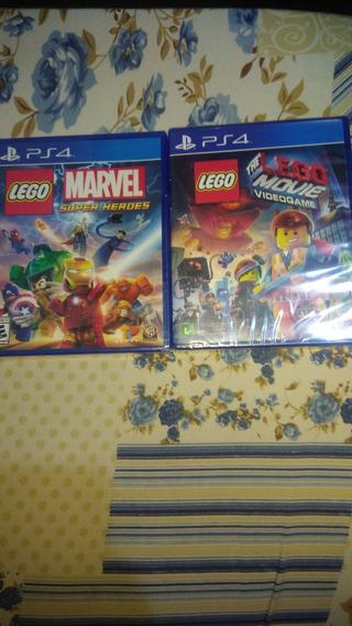Levo Movie E Lego Marvel Playstation 4